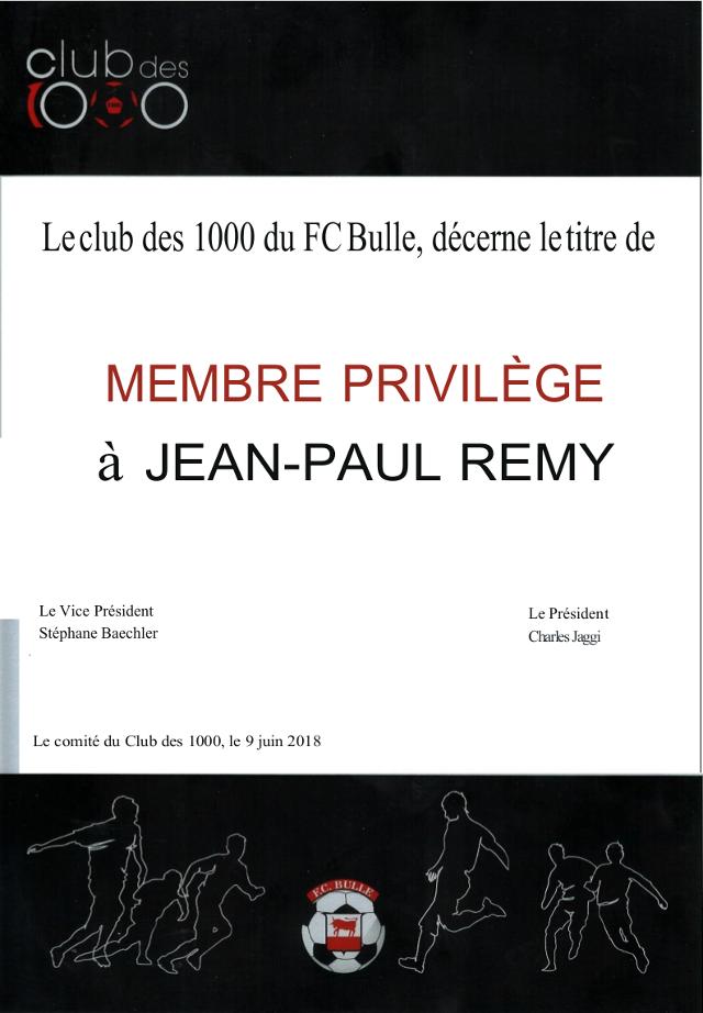 Membres privilège