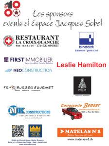 Les sponsors VIP EJG et events