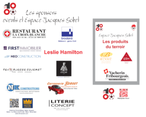 Les sponsors VIP EJG et events - Panneau